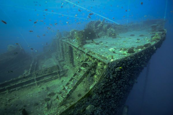 The wrecks of the Red Sea make beautiful photographic subjects