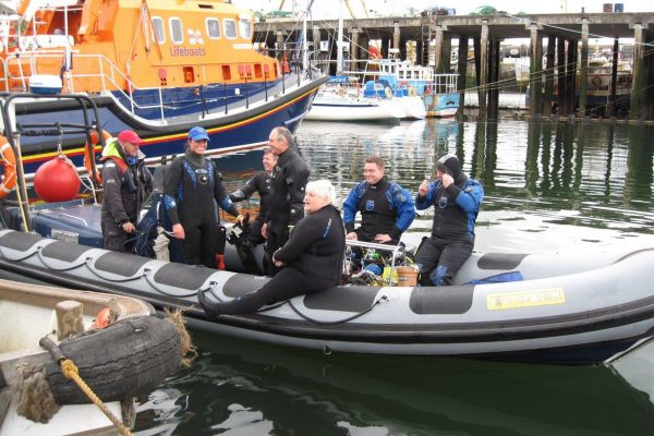 Scuba 2000 run boat and beach diving trips and VIP guided diving in Cornwall, UK