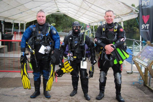UK diver training with Scuba 2000 at Vobster Quay, Somerset, UK